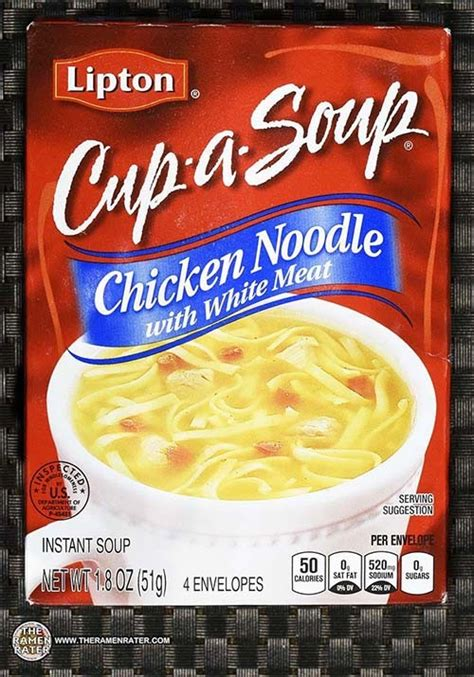 #2544: Lipton Cup-a-Soup Chicken Noodle With White Meat