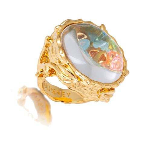 Disney Couture Tinkerbell Found Things Ring at Jewellery4