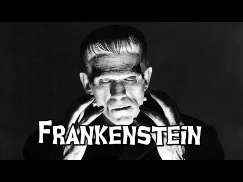 Items similar to Frankenstein, Classic Moster Series 8x10