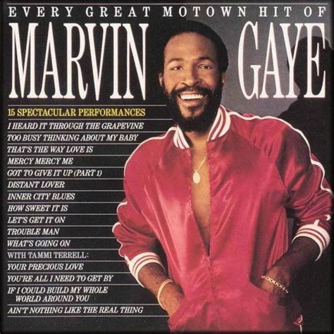 Marvin Gaye - Every Great Motown Hit Of Marvin Gaye (1983