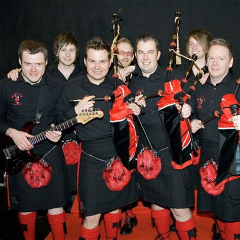 The Red Hot Chilli Pipers Perform The SA National Anthem