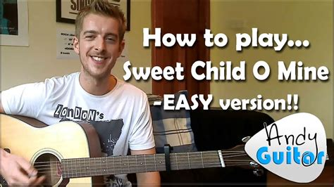 Sweet Child O Mine   Guns n Roses   How to play an Easy
