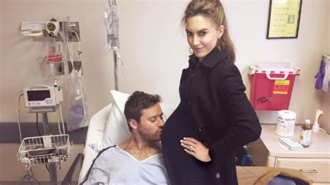Armie Hammer's Wife Elizabeth Chambers Shares First Photo