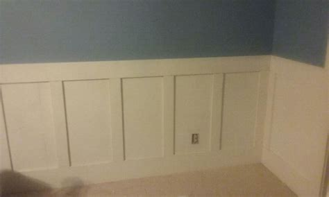 Wainscoting on the cheap - a DIY project - Savings Beagle