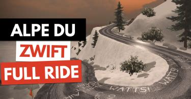 Zwift Releases The Biggest Expansion to Watopia Yet: Alpe