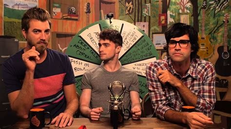 Daniel Radcliffe Talks About The Friend Zone - YouTube